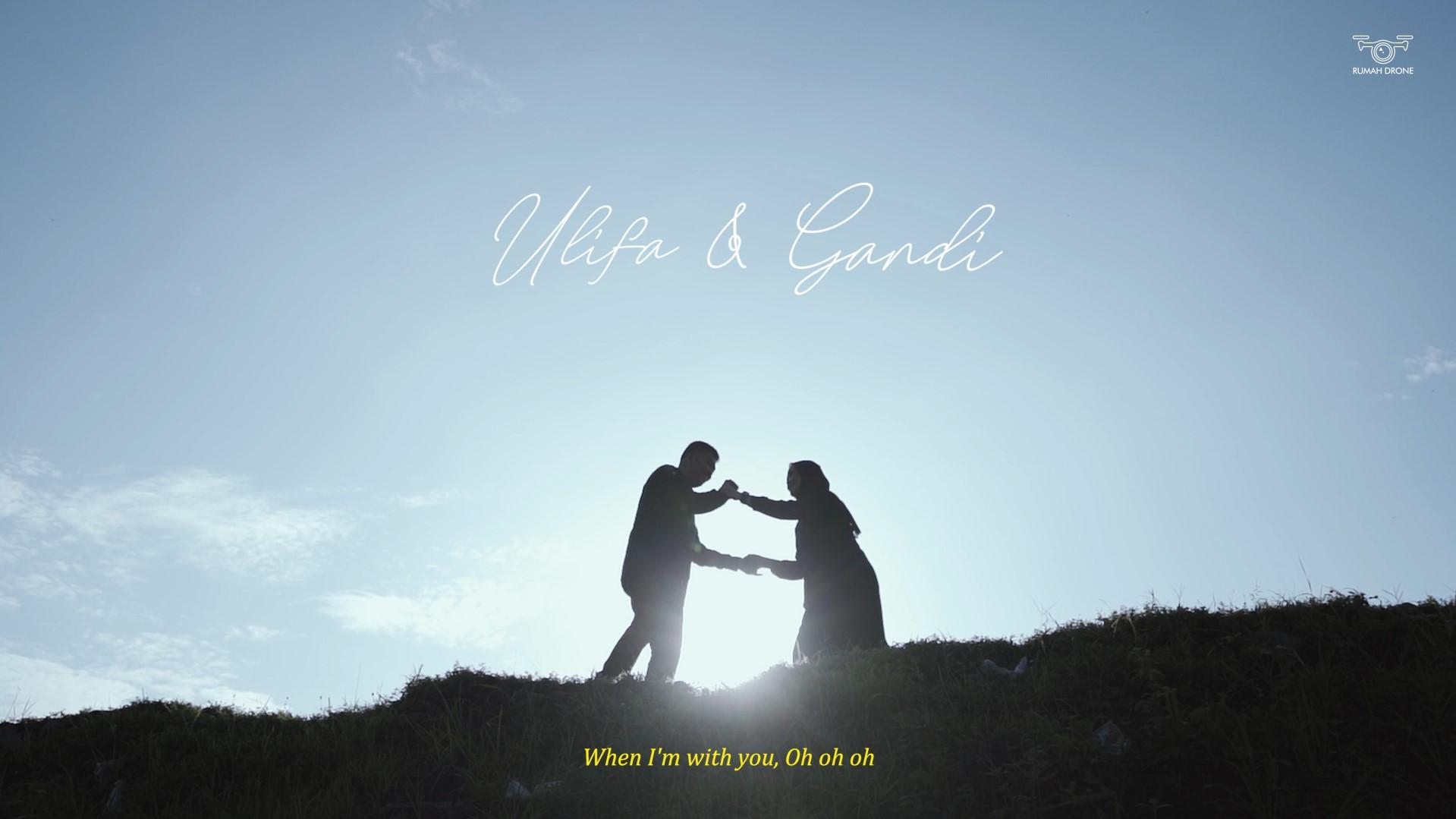 Ranu Manduro In Love | Ulifa & Gandi's Prewedding Teaser